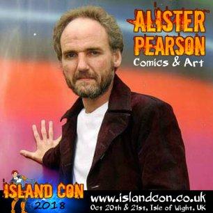 Alister Pearson Island Con promo