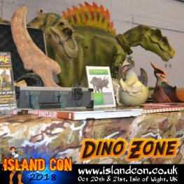 Dino Zone fossil display