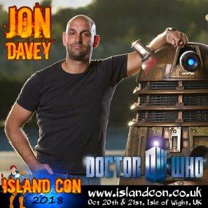 jon davey island con promo
