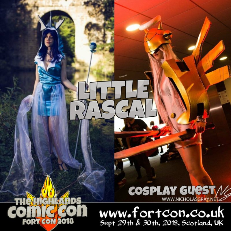 Little Rascal Fort Con 2018
