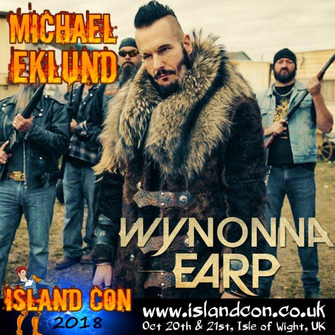 michael eklund wynonna promo island con