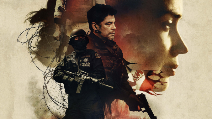 Sicario - Movie Poster (Crop)