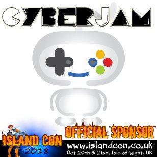 Cyberjam Sponsor island con