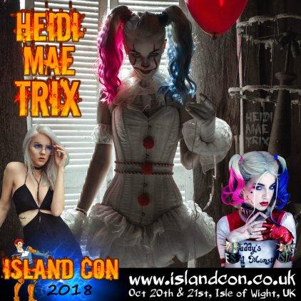 heidi mae trix island con promo 2