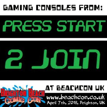 press start to join logo
