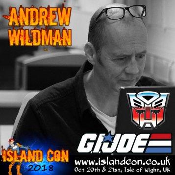 andrew wildman promo island con