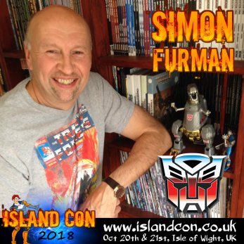 simon furman transformers island con promo