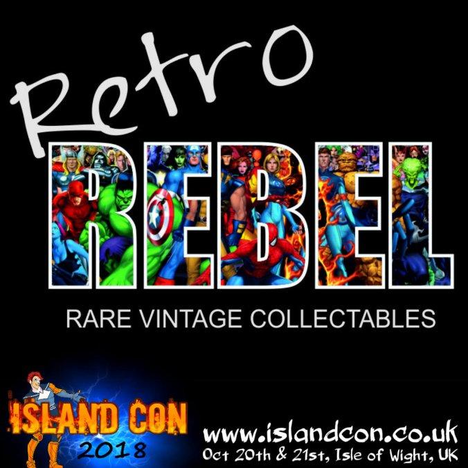 retro rebel island con promo